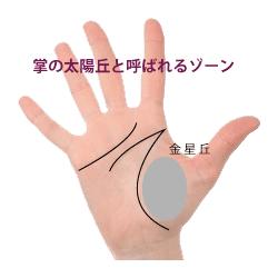 手のひらの太陽丘