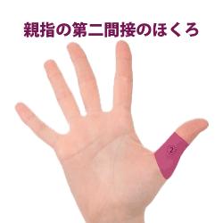 親指の第二関節にあるホクロ占い