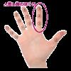 手のほくろ占い (2)人差し指にホクロがある手相の見方